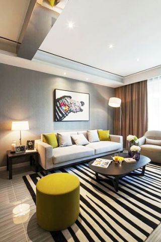 2018现代简约90平米装饰设计 2018现代简约套房设计图片
