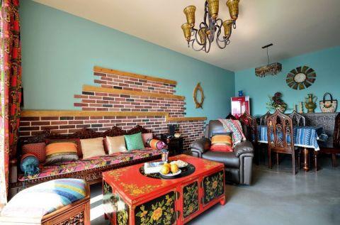 眩亮客厅背景墙装潢图片