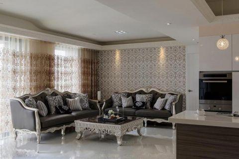 2018新古典90平米装饰设计 2018新古典一居室装饰设计