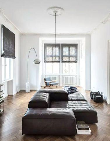 2018现代简约70平米设计图片 2018现代简约公寓装修设计