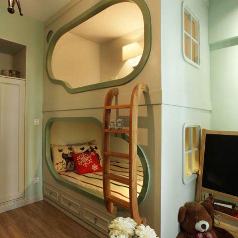典雅儿童房设计图欣赏