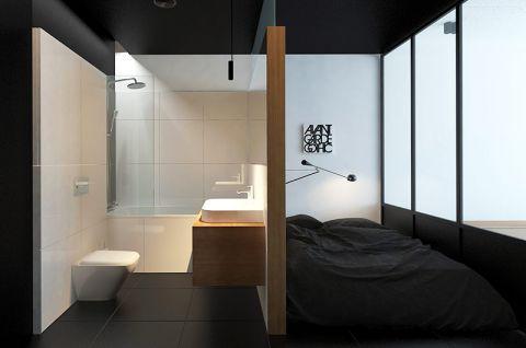 2018简约卫生间装修图片 2018简约浴室柜装修图片