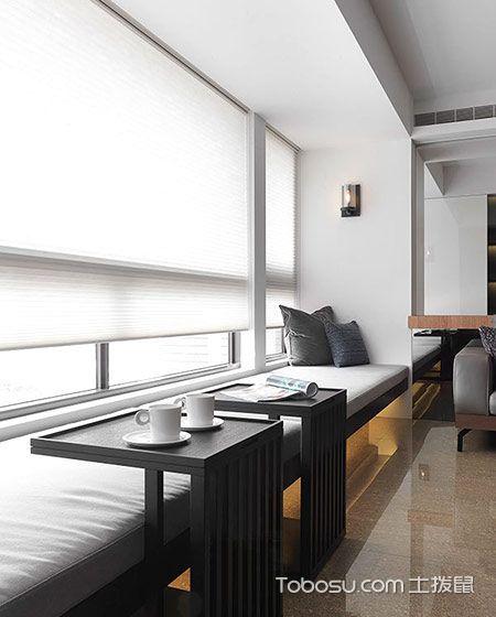 2019简约客厅装修设计 2019简约窗台设计图片