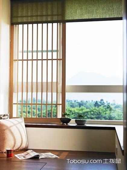 2019日式客厅装修设计 2019日式窗台设计图片