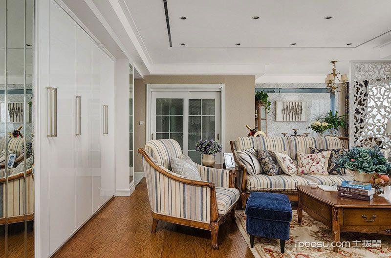2020古典客厅装修设计 2020古典吊顶设计图片