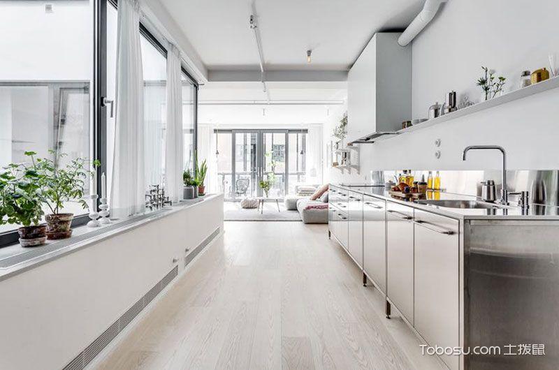 2018北欧厨房装修图 2018北欧地砖装修设计