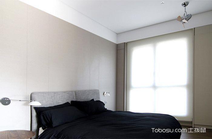 2018现代简约卧室装修设计图片 2018现代简约床图片