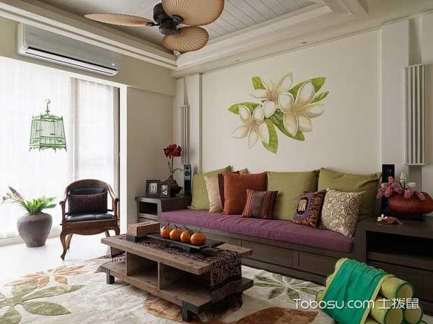 2021东南亚110平米装修设计 2021东南亚套房设计图片