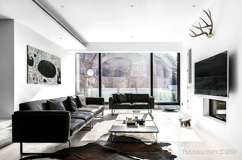 2021现代简约300平米以上装修效果图片 2021现代简约三居室装修设计图片