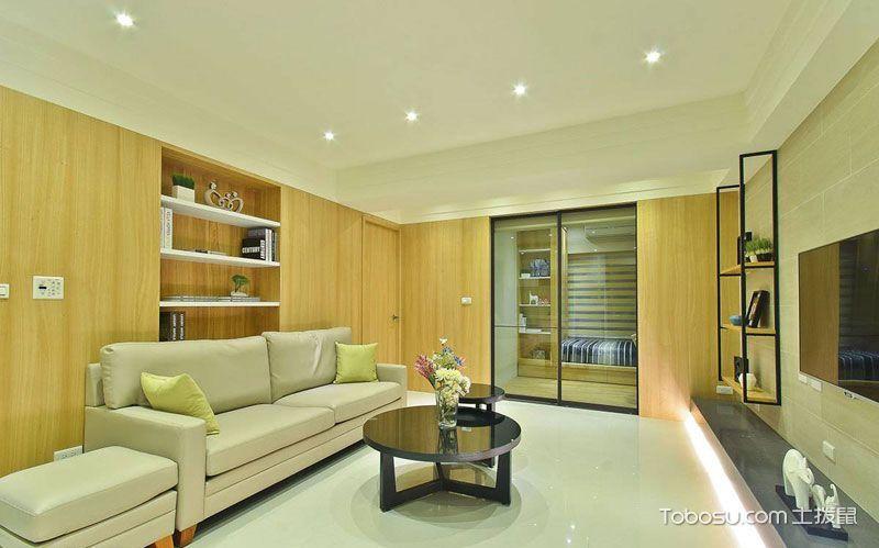 2020日式60平米以下装修效果图大全 2020日式二居室装修设计