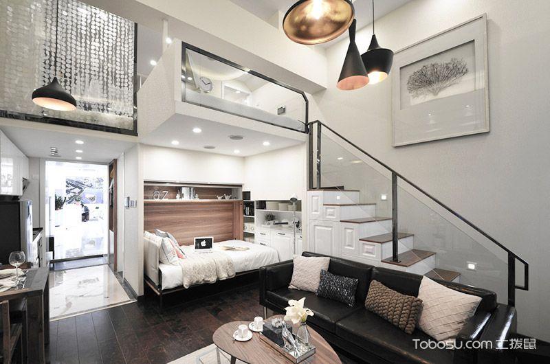 31平挑高小户型装修 空间与时间完美融合