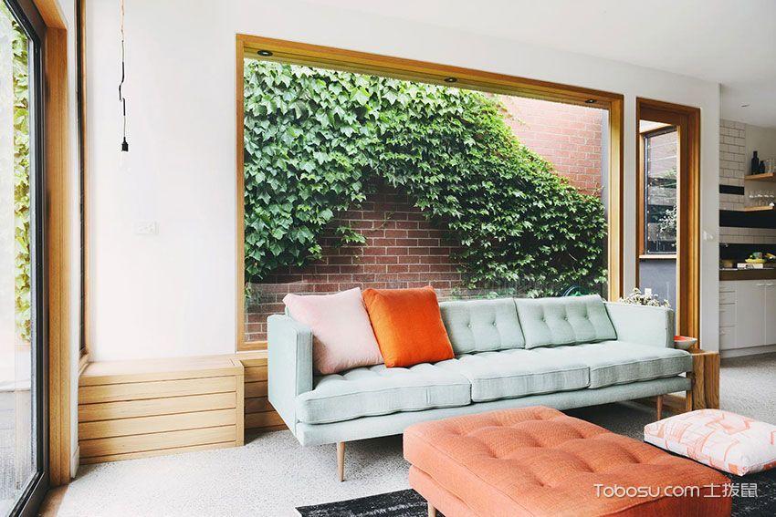 公寓120平米现代风格效果图