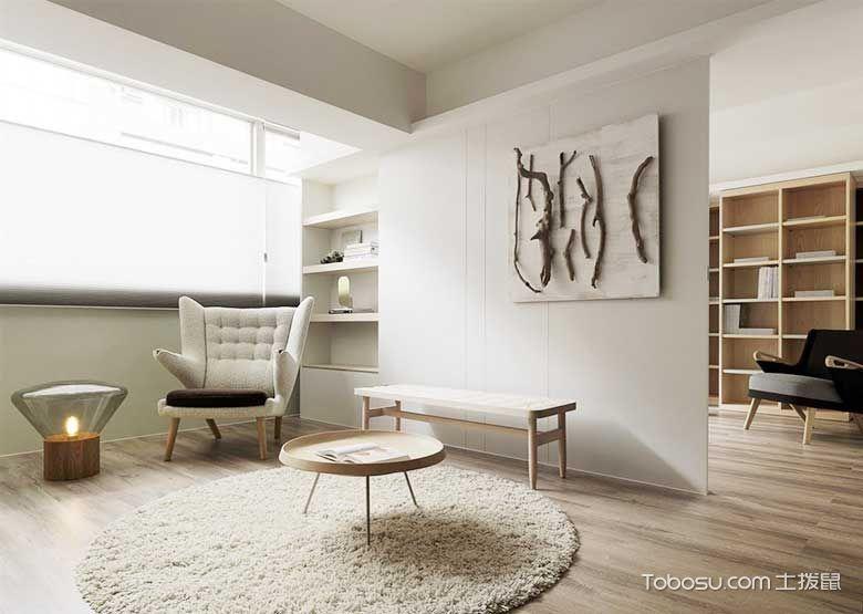 95平米极简两居室设计图   最佳灰色
