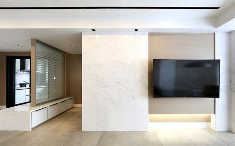 2018现代简约90平米装饰设计 2018现代简约小户型装修效果图大全
