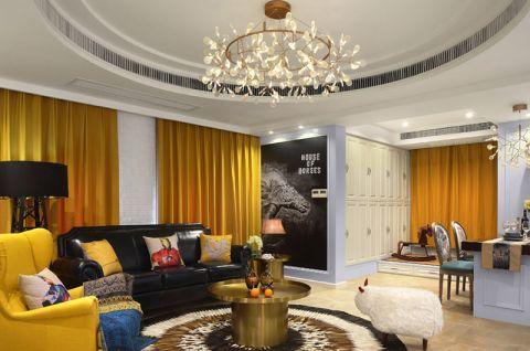 2018美式110平米装修设计 2018美式二居室装修设计