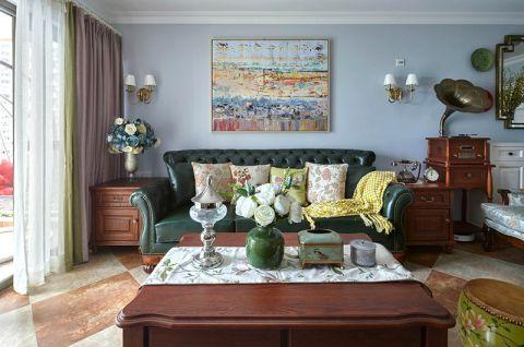 美式风格套房152平米家装设计图