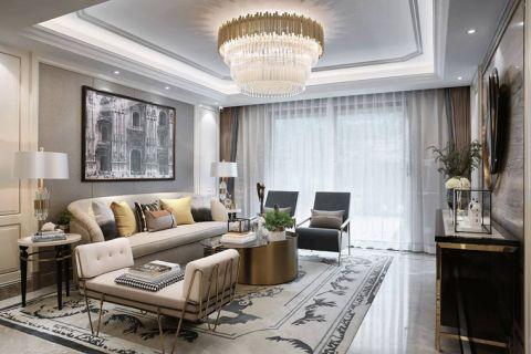 2018现代简约110平米装修设计 2018现代简约四居室装修图