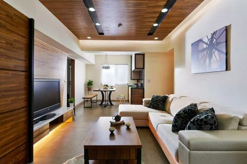 2019简约70平米设计图片 2019简约三居室装修设计图片