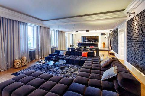 质朴客厅装潢实景图