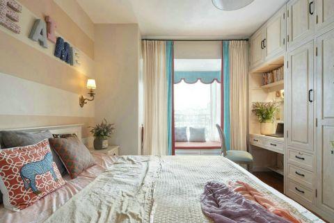 2019法式卧室装修设计图片 2019法式窗帘装修设计图片