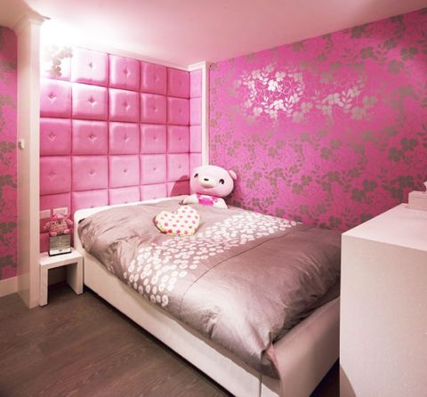 2018现代儿童房装饰设计 2018现代背景墙装修图