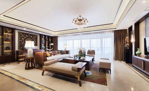 2019东南亚240平米装修图片 2019东南亚三居室装修设计图片