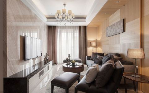 2019现代简约90平米装饰设计 2019现代简约套房设计图片