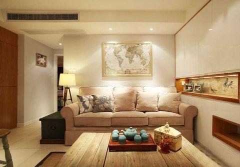 2018美式70平米设计图片 2018美式二居室装修设计