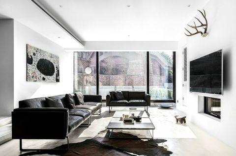 2019现代简约300平米以上装修效果图片 2019现代简约三居室装修设计图片