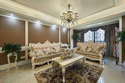118平米三居室欧式风格装修