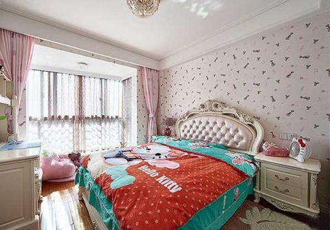 富丽儿童房窗帘装修方案