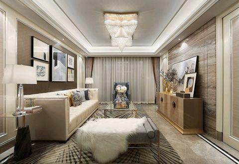 2020法式90平米装饰设计 2020法式三居室装修设计图片