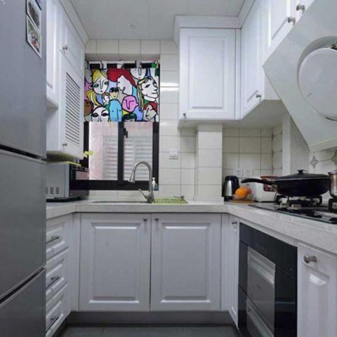 美式厨房吸塑橱柜家装设计