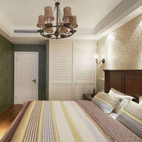 美式卧室衣柜设计图欣赏