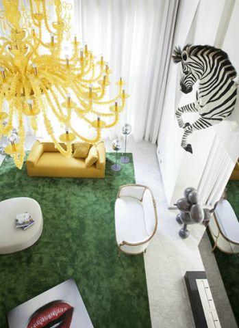 朴素温馨客厅现代装潢图片