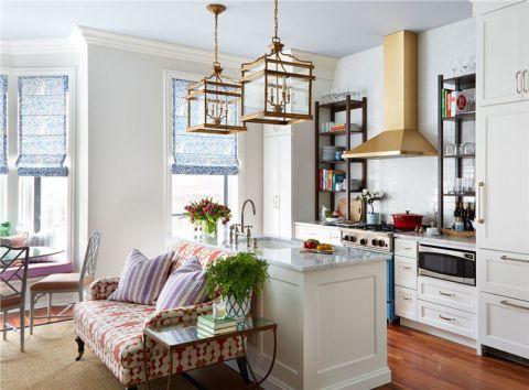 美式厨房厨房岛台装修美图