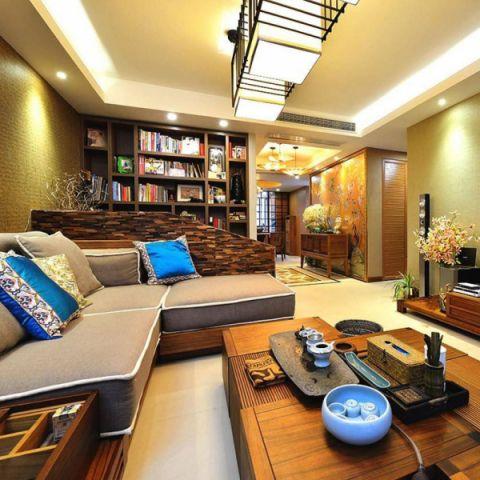 2019东南亚110平米装修设计 2019东南亚三居室装修设计图片