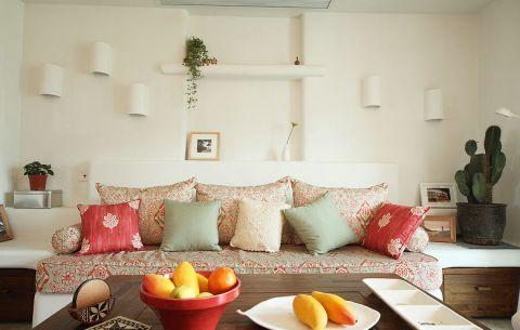 地中海风格三居室115平米装修