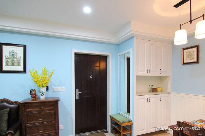 60平美式风格两室两厅装修 缔造格调家居
