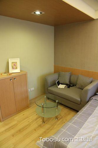 60平米小户型日式风格室内装修设计