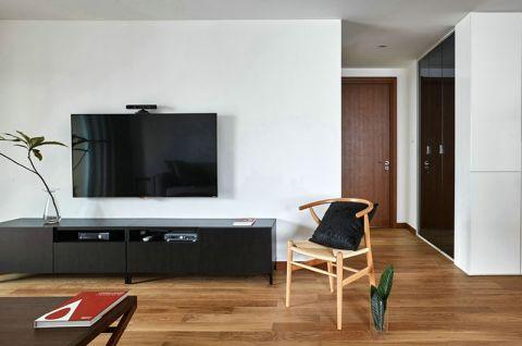 客厅电视柜现代简约装饰图片