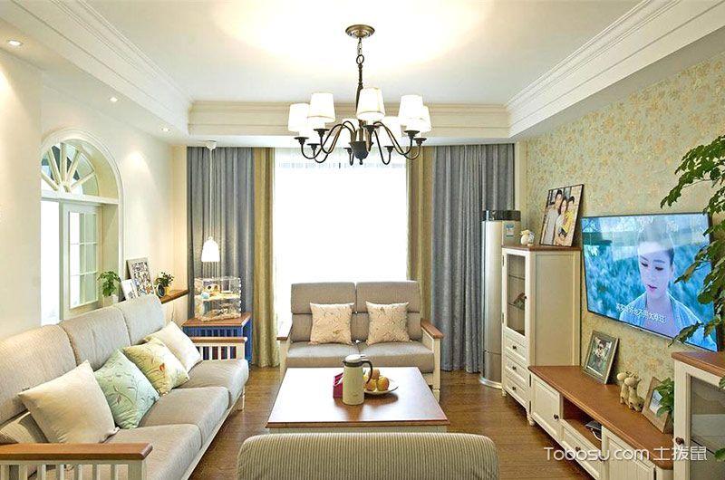 2021田园150平米效果图 2021田园二居室装修设计