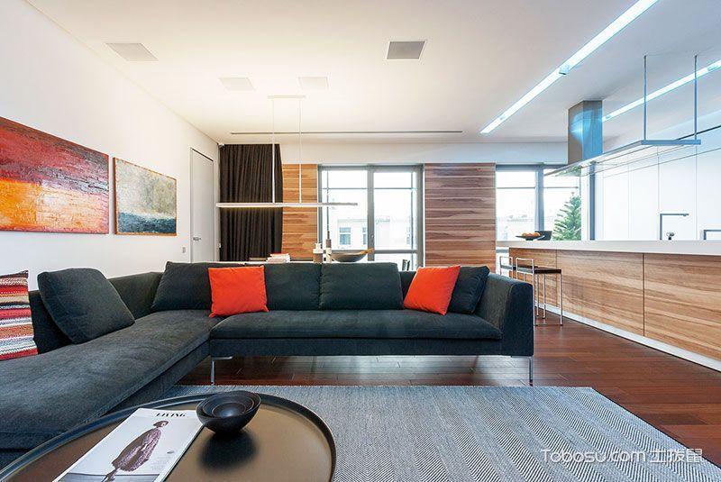 2019简约客厅装修设计 2019简约沙发装修设计图片