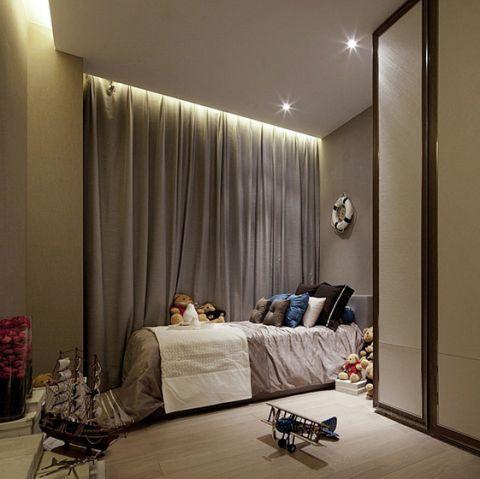 2018现代卧室装修设计图片 2018现代窗帘装修设计图片