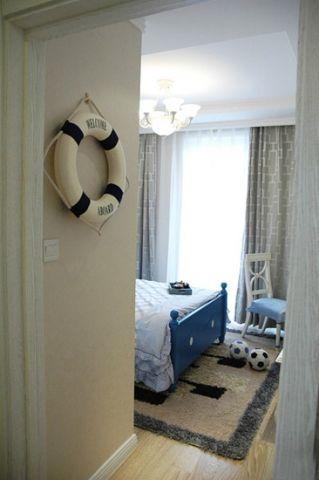 时尚儿童房窗帘装修图