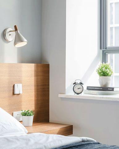 2018北欧卧室装修设计图片 2018北欧窗台装修设计图片