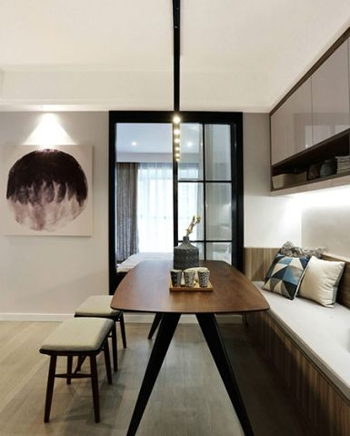 2018简约客厅装修设计 2018简约吊顶设计图片