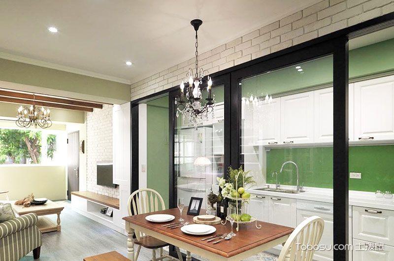 86平轻美式乡村风格装修 温馨居家宅