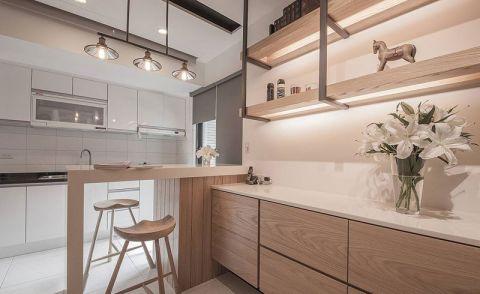 风雅厨房实木橱柜装潢效果图