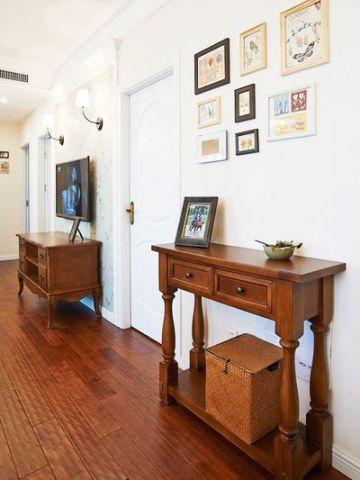 最新红木色客厅效果图图片